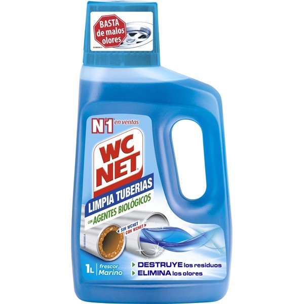 Wc net limpia tuberias 1000 ml