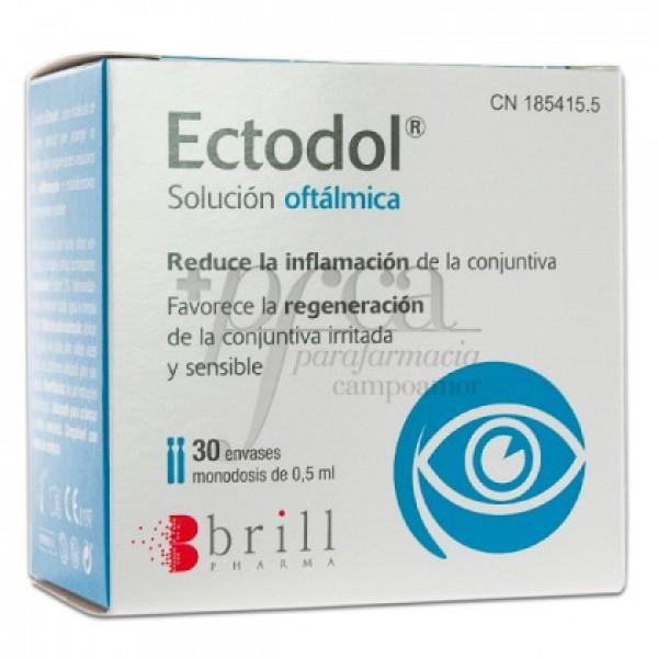 ECTODOL SOLUCION OFTALMICA 0.5 ML 30 MONODOSIS