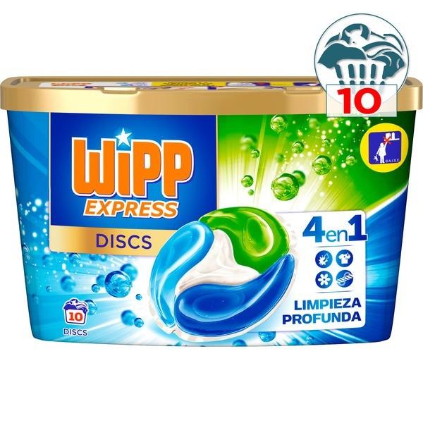 Wipp Express detergente Cápsulas 10 lavados