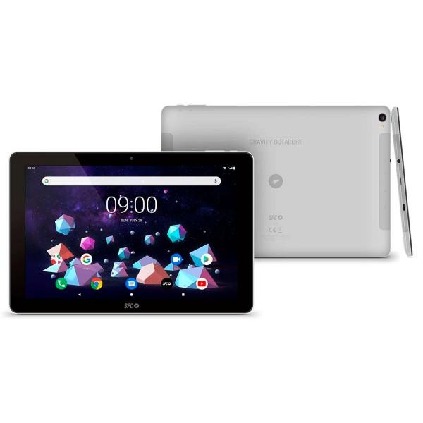 Spc gravity negro gris tablet 4g wifi 10.1'' ips hd quadcore 64gb 4gb ram cam 5mp selfies 2mp